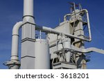 industrial aggregate plant | Shutterstock . vector #3618201