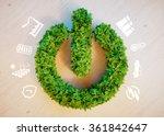 clean green eco energy concept | Shutterstock . vector #361842647