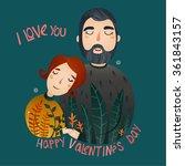 couple in love   Shutterstock .eps vector #361843157