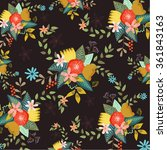 flowers | Shutterstock .eps vector #361843163