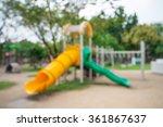 abstract blur children... | Shutterstock . vector #361867637