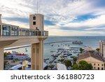 elevador lacerda   salvador  ... | Shutterstock . vector #361880723