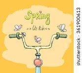 hello spring   let's ride
