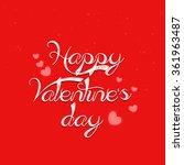valentine's day | Shutterstock .eps vector #361963487