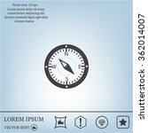 compass web icon | Shutterstock .eps vector #362014007