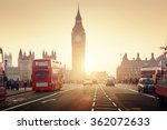 Westminster Bridge Sunset London Uk - Fine Art prints