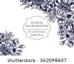 romantic invitation. wedding ... | Shutterstock . vector #362098607