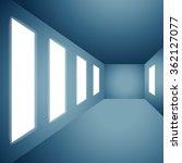 presentation gallery wall | Shutterstock .eps vector #362127077