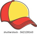 cap doodle illustration design | Shutterstock .eps vector #362128163