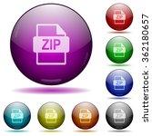 set of color zip file format...