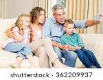happy family taking selfie on...   Shutterstock . vector #362209937
