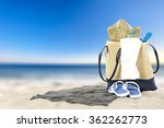 summer bag  | Shutterstock . vector #362262773