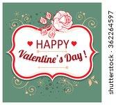 vector background with... | Shutterstock .eps vector #362264597