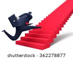 the way up. business... | Shutterstock . vector #362278877