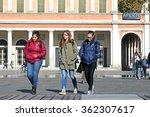 milan   italy   10 january 2016 ... | Shutterstock . vector #362307617