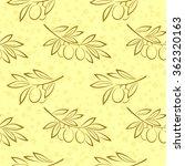 Seamless Pattern  Olive Branch...