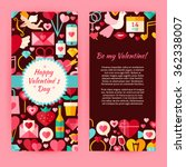 flyer template of happy... | Shutterstock .eps vector #362338007