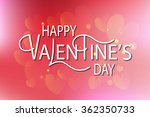 hand drawn valentines day... | Shutterstock .eps vector #362350733
