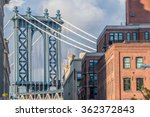 View Of The Manhattan Bridge...
