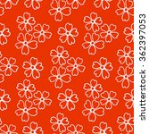 floral seamless pattern. white... | Shutterstock .eps vector #362397053