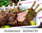grilled lamb chops  | Shutterstock . vector #362446733