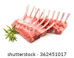 racks of lamb ready for cooking ... | Shutterstock . vector #362451017