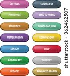 website buttons   vector shapes