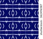 aztec seamless pattern. striped ... | Shutterstock . vector #362496587