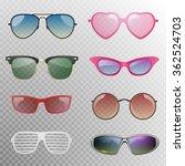 sunglasses set   Shutterstock .eps vector #362524703