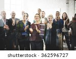 audience applaud clapping... | Shutterstock . vector #362596727