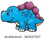 vector illustration of cartoon... | Shutterstock .eps vector #362627327