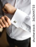 groom in the morning on the... | Shutterstock . vector #362644733
