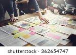 business people meeting design... | Shutterstock . vector #362654747