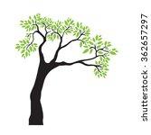 tree.vector illustration.   Shutterstock .eps vector #362657297
