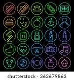set of elegant universal... | Shutterstock .eps vector #362679863