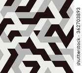 abstract triangle seamless... | Shutterstock .eps vector #362703893