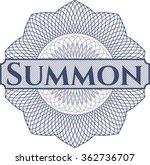 summon abstract rosette | Shutterstock .eps vector #362736707