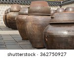 Dozens Of Large Clay Pots At...