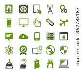 technology icons set computer ... | Shutterstock .eps vector #362788187