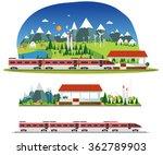 vector  amid the industrial... | Shutterstock .eps vector #362789903