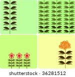 collection floral cards | Shutterstock .eps vector #36281512