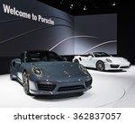 Постер, плакат: A 2017 Porsche 911