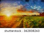 Rainbow Oil Paintings Solar...