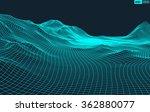 abstract vector landscape... | Shutterstock .eps vector #362880077