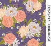beautiful seamless floral... | Shutterstock .eps vector #362914367