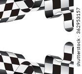 checkered flag background   Shutterstock .eps vector #362953157