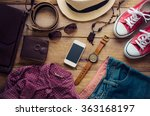 clothing and accessories for... | Shutterstock . vector #363168197
