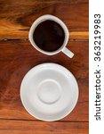 hot coffee  | Shutterstock . vector #363219983