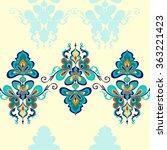 vector illustration  seamless... | Shutterstock .eps vector #363221423