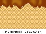 vector background with melting... | Shutterstock .eps vector #363231467